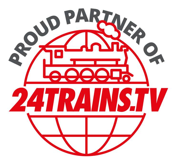 24TRAINStv logo Proud Partner of